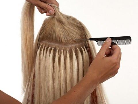 Наращивание волос в